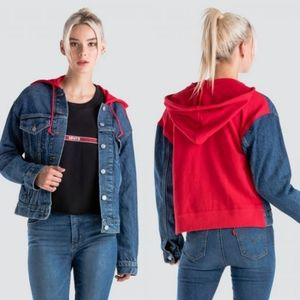 Levi's Women's Ex-Boyfriend Hybrid Trucker Jacket